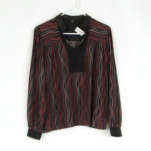 Black RAOUL blouse 4